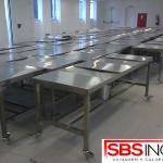Fábrica de móveis em aço inox